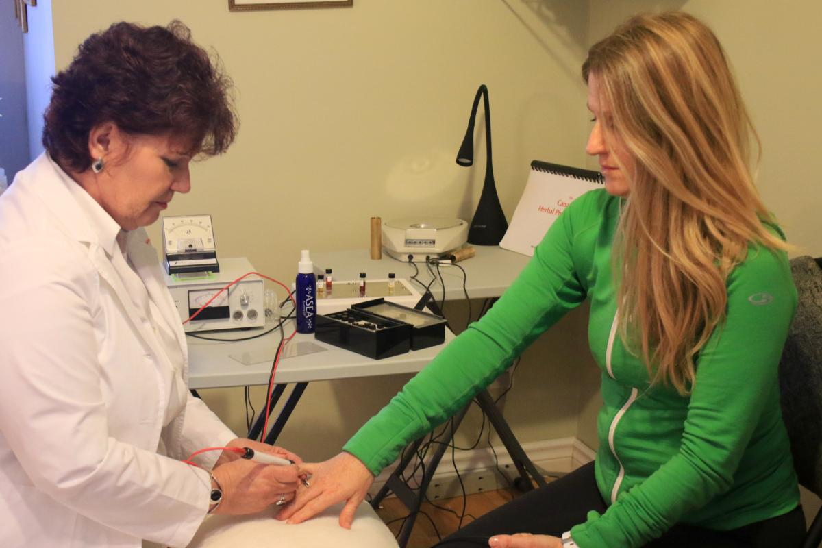 Electro-Dermal Screening, Phoenix Wellness Centre, Whitby